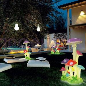 светодиодные фигуры для сада